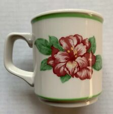 1998 THE GREENBRIER RESTAURANT WARE COFFEE CUP, HOMER LAUGHLIN, RHODODENDRON