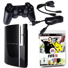 Playstation 3 - PS3 Fat 80 Gb Cechl04 Nero + Orig. Controller + Gioco Fifa 11