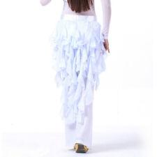 Belly Dance Costume Hip Scarf Waves Tassel Skirt Samba Latin Skate Skirt Wrap