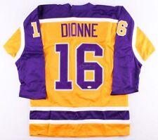 "Marcel Dionne Signed Kings Jersey Inscribed ""Hof 92"" (Jsa Coa)"