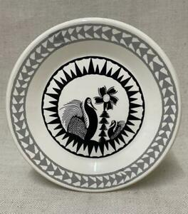 Robert 'Scottie' Wilson Royal Worcester Plate - Outsider Art