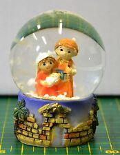 CHRISTMAS WATERBALL NATIVITY SCENE, 60 x 45mm, LIMITED STOCK