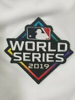 2019 OFFICIAL MLB Astros Vs Nationals World Series Bound Patch Iron Sewn On