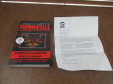 SPOCK Leonard Nimoy's Primortals : Target Earth by Steve Perry,ADVANCE COPY