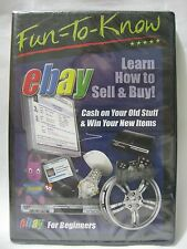 Fun-To-Know eBay Learn How to Sell & Buy For Beginners (DVD, 2008) NEW!