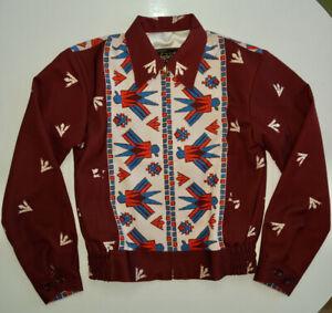 Vintage 80s IIF Cropped Weaved Shoulder Jacket Ladies Mid Century Rockability Mid Century Ladies Festival Club Street Wear
