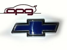 CHEV BOWTIE VT VU VX VY VZ F OR R BADGE BLUE/CHROME-NEW