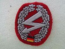 ^A30-16 Barett Abzeichen Bundeswehr Stoff Fernmelder