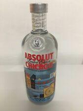 Absolut vodka chicago-nuevo y sellado-New Sealed