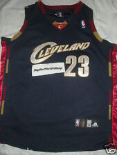 Authentic Lebron James Cleveland Cavaliers Jersey 52 SEWN Adidas NBA Alternate