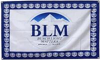 Busch Latte BLM Beer flag BUSCHHHHHH Bud Budweiser 3x5ft banner