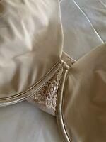 Vanity Fair  Women's Bra 76380  Beige Beauty Back  Size 40DDD