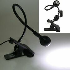 Flexible USB Clip-on Table Lamp LED Clamp Reading Study Desk Laptop PC LED light