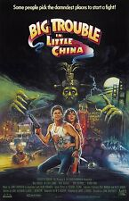 Big Trouble In Little China movie poster  (b) Kurt Russell poster, Kim Catrall