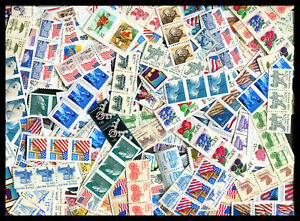 Discount Postage $50.00 Face Small Stamps Perfect For Mailing Many Values