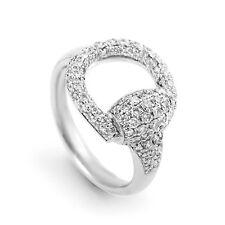 Gucci White Gold Fine Diamond Ring