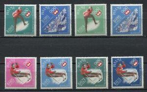 37226) Panama 1964 MNH Winter Olympics, Innsbruck 8v