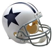 DALLAS COWBOYS (1960-63 Throwback) Riddell Deluxe REPLICA Helmet