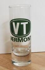 Vermont VT Shot Glass Shooter  Souvenir Green logo