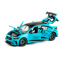Jaguar I-Pace eTROPHY 1:32 Diecast Model Car Toy Collection Light&Sound Pullback