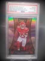 2018 Panini Select Mecole Hardman RC Rookie XRC Silver SSP Graded PSA 10