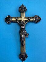Kruzifix,Corpus Silber vergoldet, Mitte 19JHd.