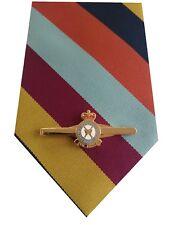 RAF Regiment Tie & Tie Clip Set e221 Royal Air Force