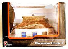 1/72 Pegasus Ukrainian House 1 Resin Building Pre-Painted Unused.