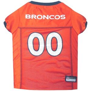Denver Broncos Pets First NFL Pet Dog Jersey