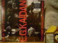 "ESPLENDOR GEOMETRICO + HIJOKAIDAN ""E.G.KAIDAN"" LP/Live in Tokyo 24 November 2013"
