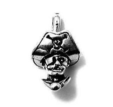 925 Sterling Silver Pirate Head Charm