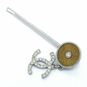 Chanel Hairpin Hair Accessories 02C Coco Mark No.7342