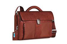 Piquadro Frame orange small size briefcase w/ mobile case CA1095FR/AR