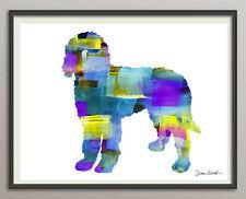 goldendoodle Hund- alle Größen - Druck poster kunstdruck aquarell