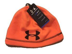 Under Armour ColdGear Beanie Hat - Orange