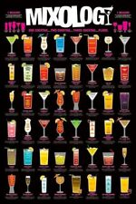 Poster Mixology One Cocktail...Two Cocktail...Three Cocktail...Floor! 61x91.5cm