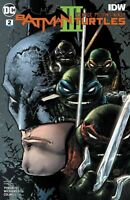 Batman Teenage Mutant Ninja Turtles III #2 DC COMICS IDW COVER A 1ST PRINT