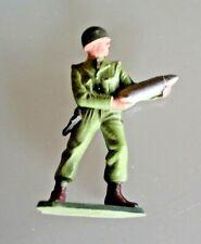 Figürchen Plastik Starlux Soldat Diener Artillerie Jahre 60