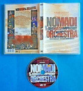 DVD NOMADI & OMNIASYMPHONY ORCHESTRA LIVE 2007 - Buone Condizioni