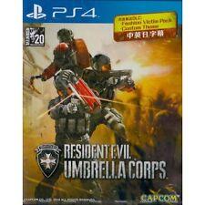 RESIDENT EVIL UMBRELLA CORPS, PlayStation PS4, 2016 English