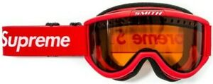 NEW RARE 100% AUTHENTIC SUPREME SMITH CARIBOO OTG SKI GOGGLES BOX LOGO FW15