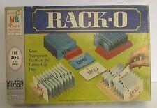 Mid Century 1966 Vintage RACK-O Board Card Game Milton Bradley Racko 60's