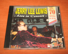 """Jerry Lee Lewis CD """" LIVE IN CONCERT """" Double Play"""