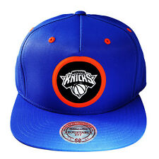 Mitchell & Ness NBA New York Knicks Snapback Hat with Nylon Patch