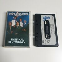 EUROPE THE FINAL COUNTDOWN CASSETTE TAPE 1986 PAPER LABEL EPIC CBS UK