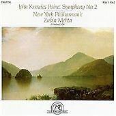 John Knowles Paine Symphony No. 2 CD NEW WORLD New York PO Zubin Mehta