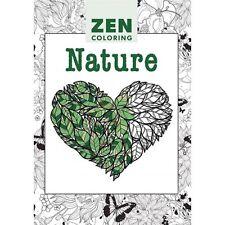 ZEN COLORING - NATURE - LIVRE À COLORIER ADULTE DOODLE