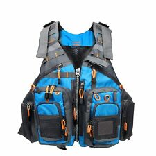 Multi-pocket Fly Fishing Backpack Chest Mesh Bag Size Adjustable AU STOCK