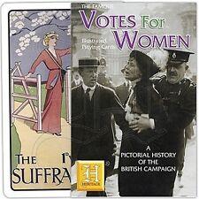 Vote des femmes suffragettes lot de 52 cartes à jouer + jokers (hpc)