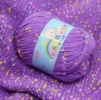 Cashmere Yarn For Hand Knitting Wool Colorful 89Meters Skin Friendly Baby Socks